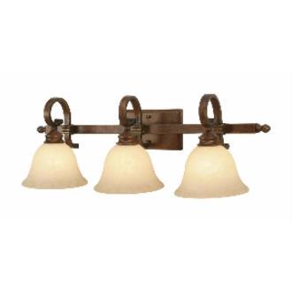 Golden Lighting 3711-BA3 CB 3 Light Vanity