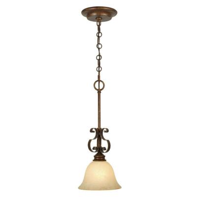 Golden Lighting 3711-M1L CB Mini Pendant