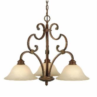 Golden Lighting 3711-ND3 CB 3 Light Nook