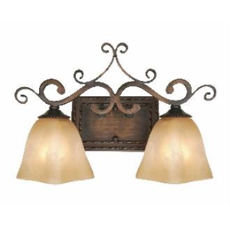 Golden Lighting 3890-VL2 GB 2 Light Vanity