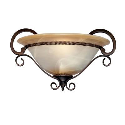 Golden Lighting 3890-WSC GB 1 Light Wall Sconce