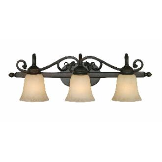 Golden Lighting 4074-3 RBZ 3 Light Vanity