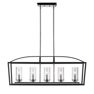 Mercer - Five Light Linear Pendant