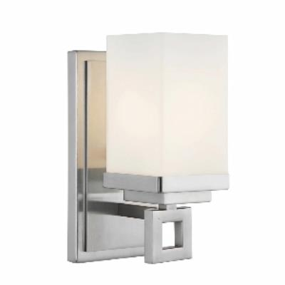 Golden Lighting 4444-BA1 PW Nelio - One Light Wall Sconce