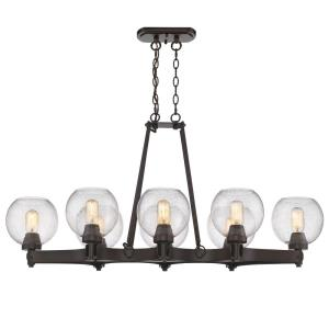 Galveston - Eight Light Linear Pendant