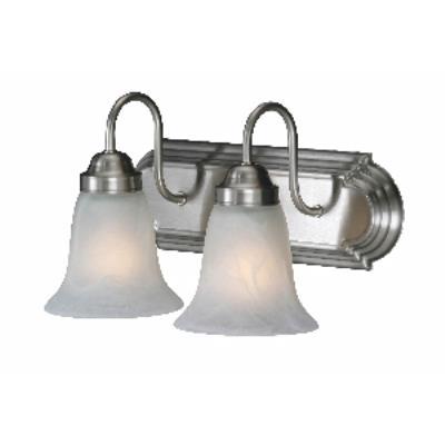 Golden Lighting 5221-2 PW 2 Light Vanity