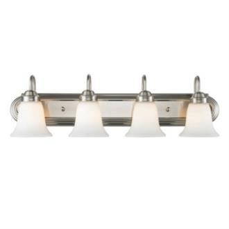 Golden Lighting 5221-4 Brookfield - Four Light Bath Vanity