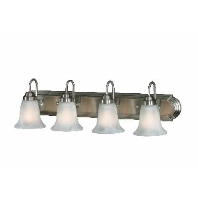 Golden Lighting 5221-4 PW 4 Light Vanity