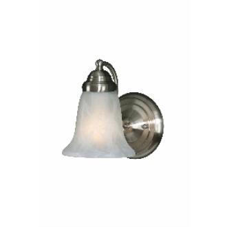 Golden Lighting 5222-1 PW 1 Light Wall Sconce