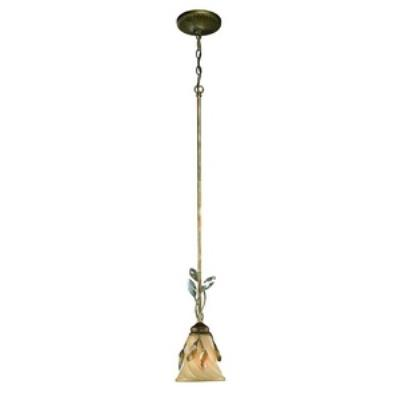 Golden Lighting 5400-M1L RG Beau Jardin - One Light Mini Pendant