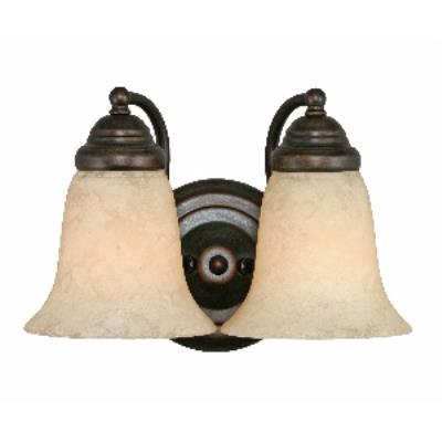 Golden Lighting 5662 RBZ 2 Light Vanity