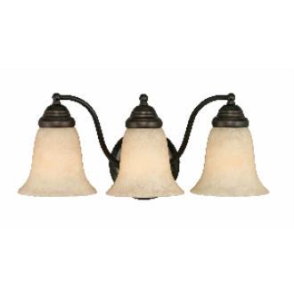 Golden Lighting 5663 RBZ 3 Light Vanity