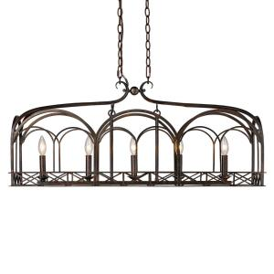 Gateway - Five Light Linear Pendant