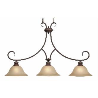 Golden Lighting 6005-10 RBZ Island Light