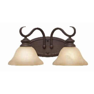 Golden Lighting 6005-BA2 RBZ 2 Light Vanity