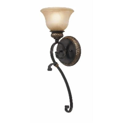 Golden Lighting 6029-1W EB Jefferson - One Light Wall Sconce