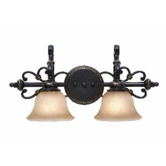 Golden Lighting 6029-BA2 EB 2 Light Vanity