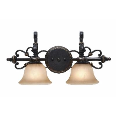 Golden Lighting 6029-BA2 EB 2 Light Vanity