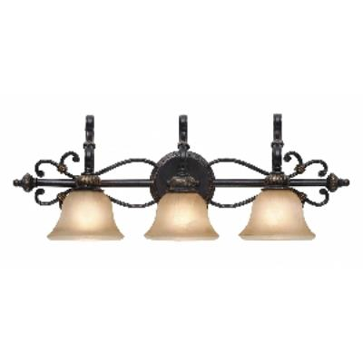 Golden Lighting 6029-BA3 EB 3 Light Vanity