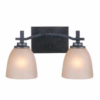 Golden Lighting 6262-BA2 DNI Hampden - Two Light Bath Bar