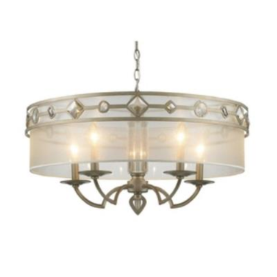 Golden Lighting 6390-5 WG Coronada - Five Light Chandelier