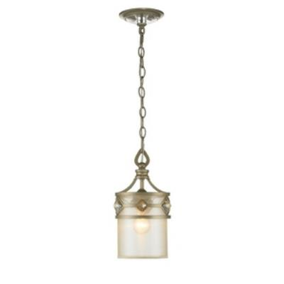 Golden Lighting 6390-M1L WG Coronada - One Light Mini Pendant