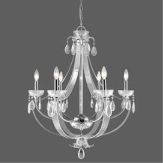 Golden Lighting 6530-6 CH Clarion - Six Light Chandelier