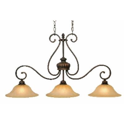 Golden Lighting 7116-10 LC Island Light