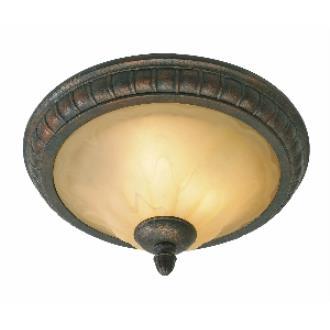"""Golden Lighting 7116-17 LC 17"""" Flush"""