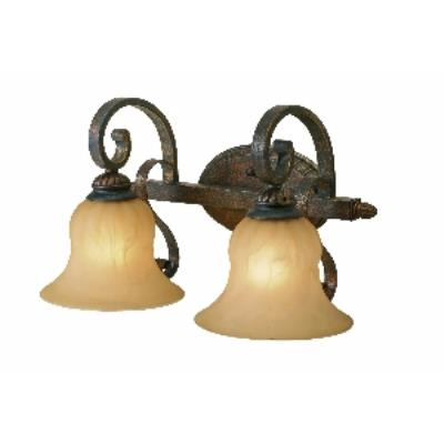 Golden Lighting 7116-BA2 LC 2 Light Vanity