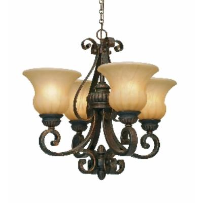 Golden Lighting 7116-GM4 LC Mini Chandelier