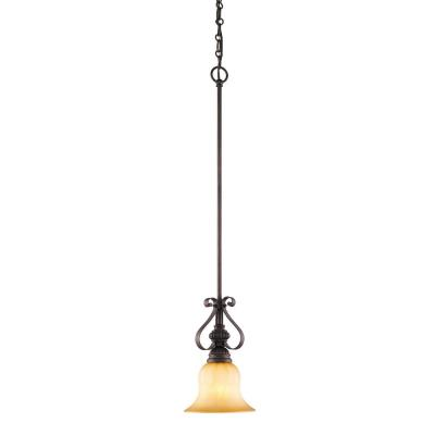 Golden Lighting 7116-M1L LC Mini Pendant