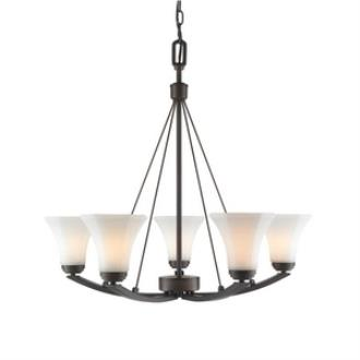 Golden Lighting 7158-5 Accurian - Five Light Chandelier