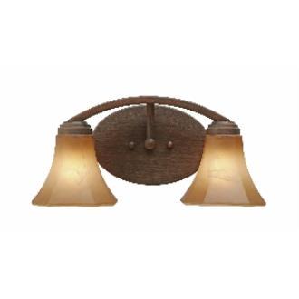 Golden Lighting 7158-BA2 RBZ 2 Light Vanity