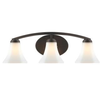 Golden Lighting 7158-BA3 Accurian - Three Light Bath Vanity