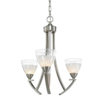 Golden Lighting 7509-3P PW Asteria - Three Light Pendant