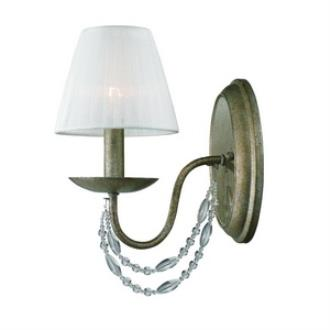 Golden Lighting 7644-1W GA Mirabella - One Light Wall Sconce