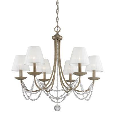 Golden lighting 7644 6 ga pcs mirabella six light chandelier mozeypictures Gallery
