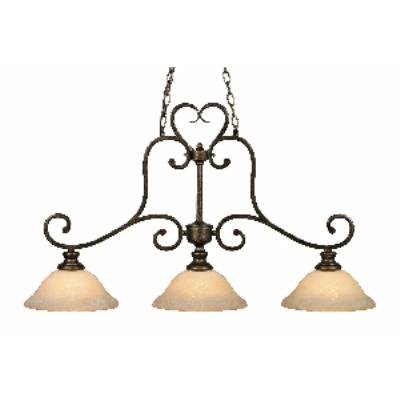 Golden Lighting 8063-10 BUS Island Light