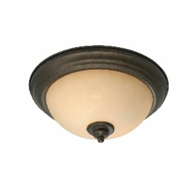 """Golden Lighting 8063-13 BUS 13"""" Flush"""