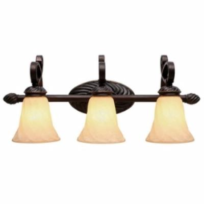 Golden Lighting 8106-BA3 Torbellino - Three Light Vanity Fixture