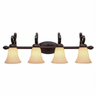 Golden Lighting 8106-BA4 Torbellino - Four Light Vanity Fixture