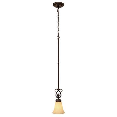 Golden Lighting 8106-M1L Torbellino - One Light Mini Pendant