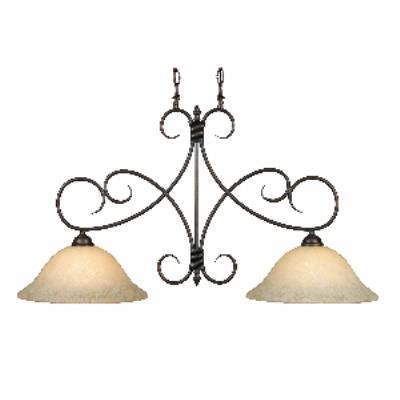 Golden Lighting 8606-10 RBZ Island Light