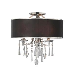 Echelon - Three Light Semi-Flush Mount