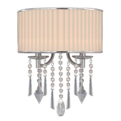 Golden Lighting 8981-WSC BRI Echelon - Two Light Wall Sconce