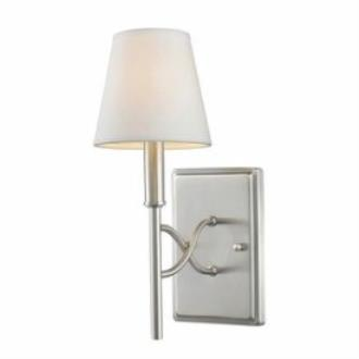 Golden Lighting 9106-1W PW-OPL Taylor - One Light Wall Sconce
