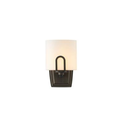 Golden Lighting 9363-1W GMT-OP Presilla - One Light Wall Sconce
