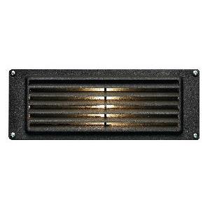"Louvered - Low Voltage 8.8"" 3.8W 1 LED Landscape Brick Light"