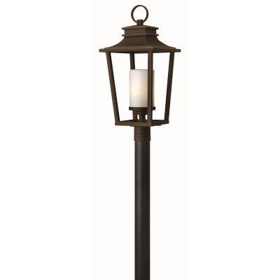 Hinkley lighting 1741 sullivan one light outdoor post mount mozeypictures Images